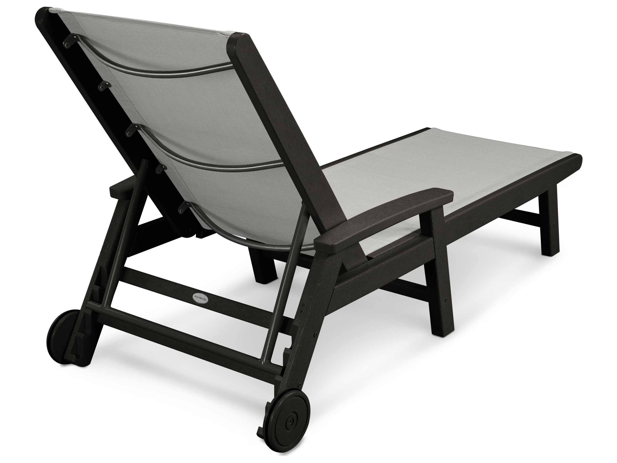 Polywood coastal sling aluminum chaise lounge sw2290 for Aluminium chaise lounge