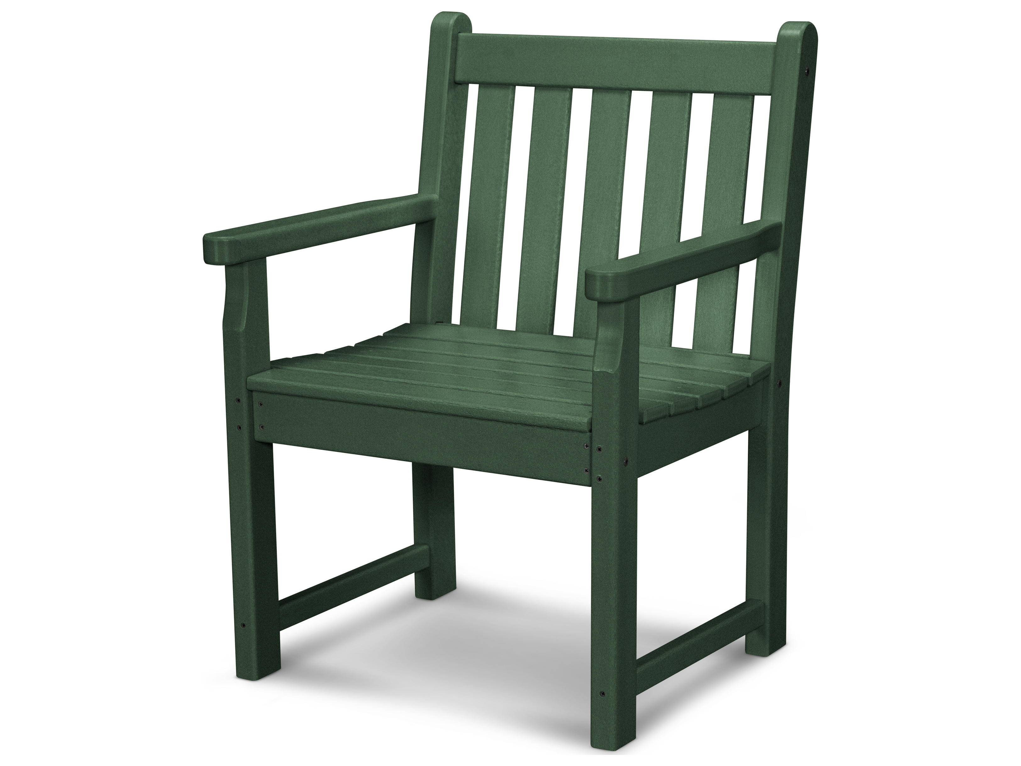 POLYWOOD® Traditional Garden Recycled Plastic Dining Chair ...