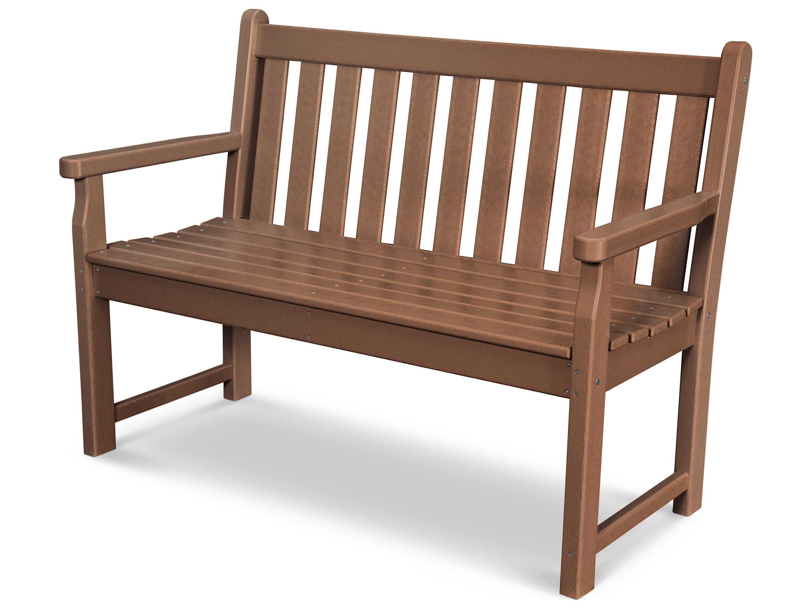 Polywood Traditional Garden Recycled Plastic 48 Bench Tgb48