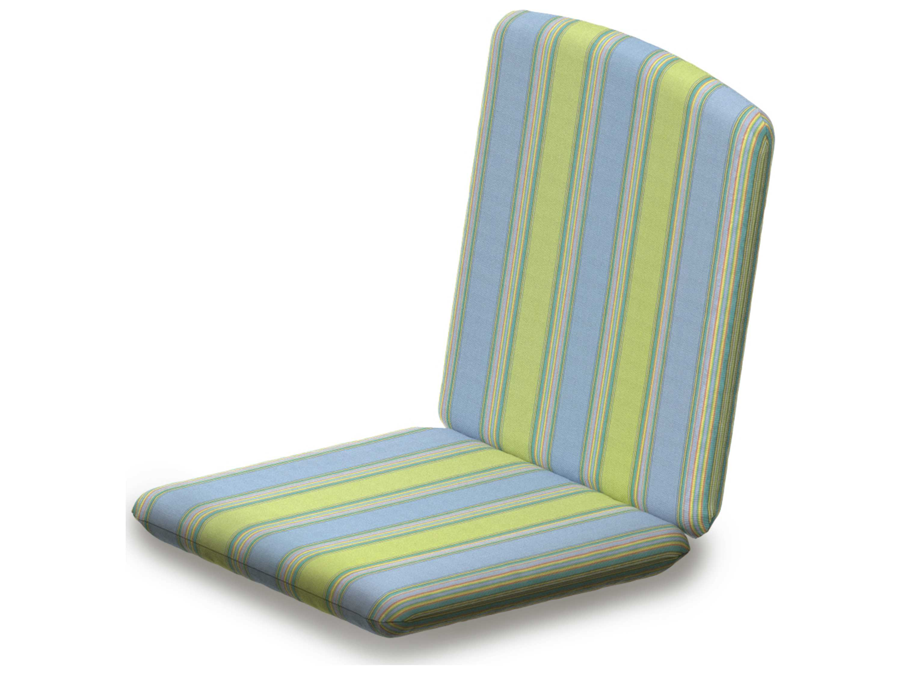 Polywood 174 Nautical Replacement Chair Seat Amp Back Cushion