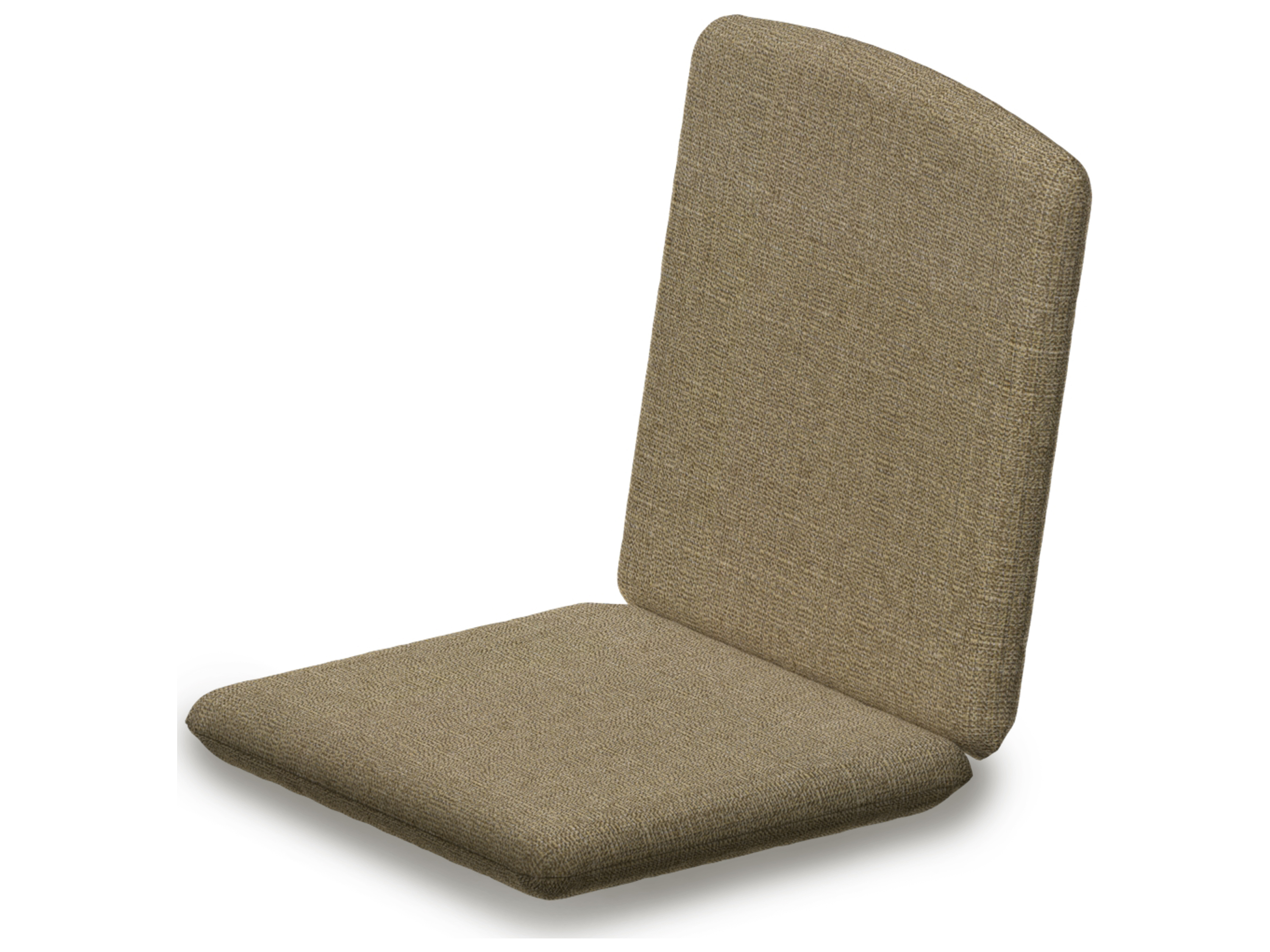 POLYWOOD Nautical Replacement Chair Seat & Back Cushion