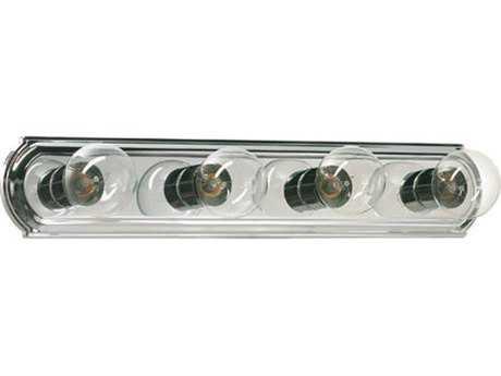 Quorum International Chrome Four-Light Vanity Light