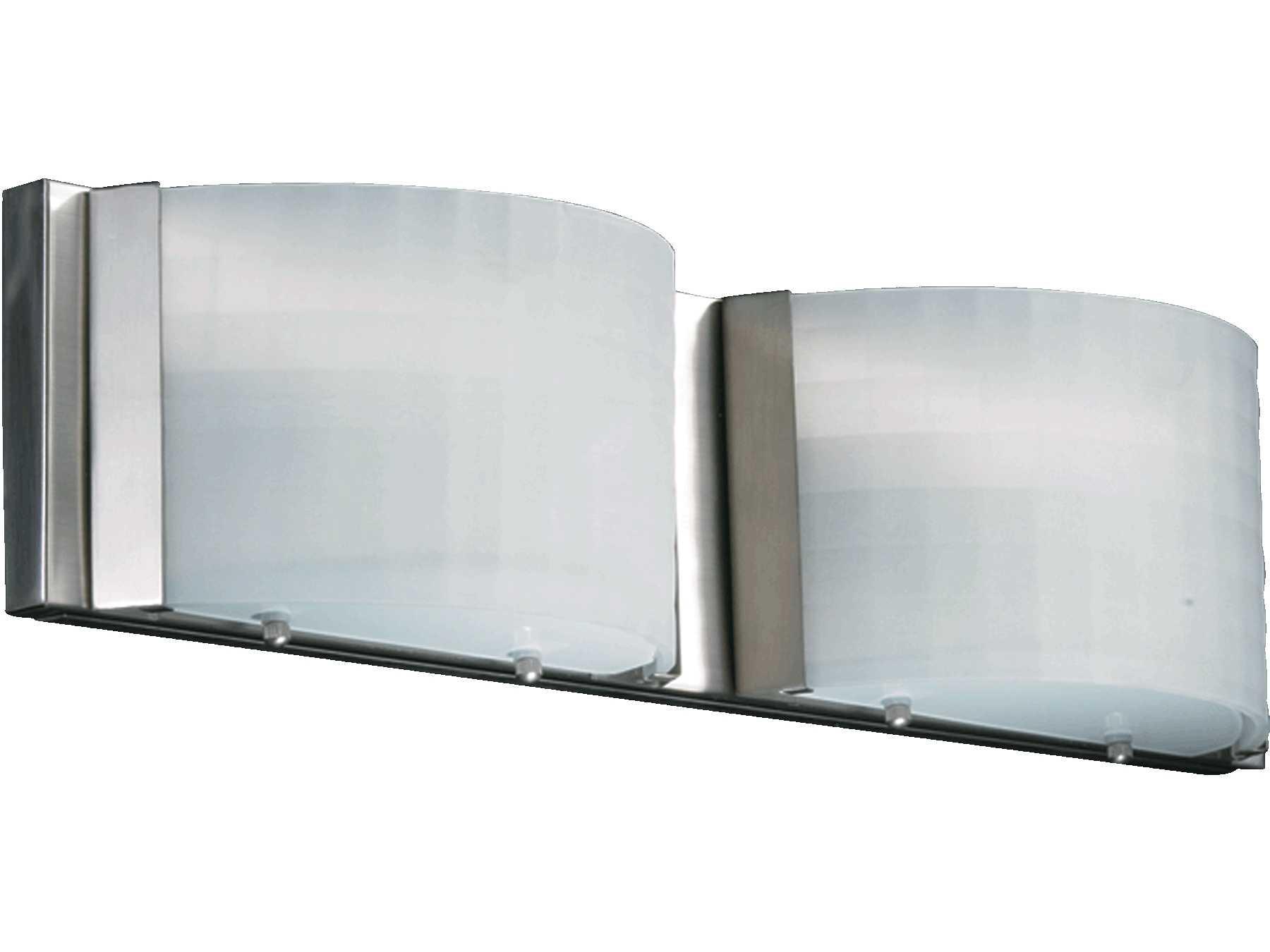 Quorum international satin nickel two lights vanity light for International decor wall lights