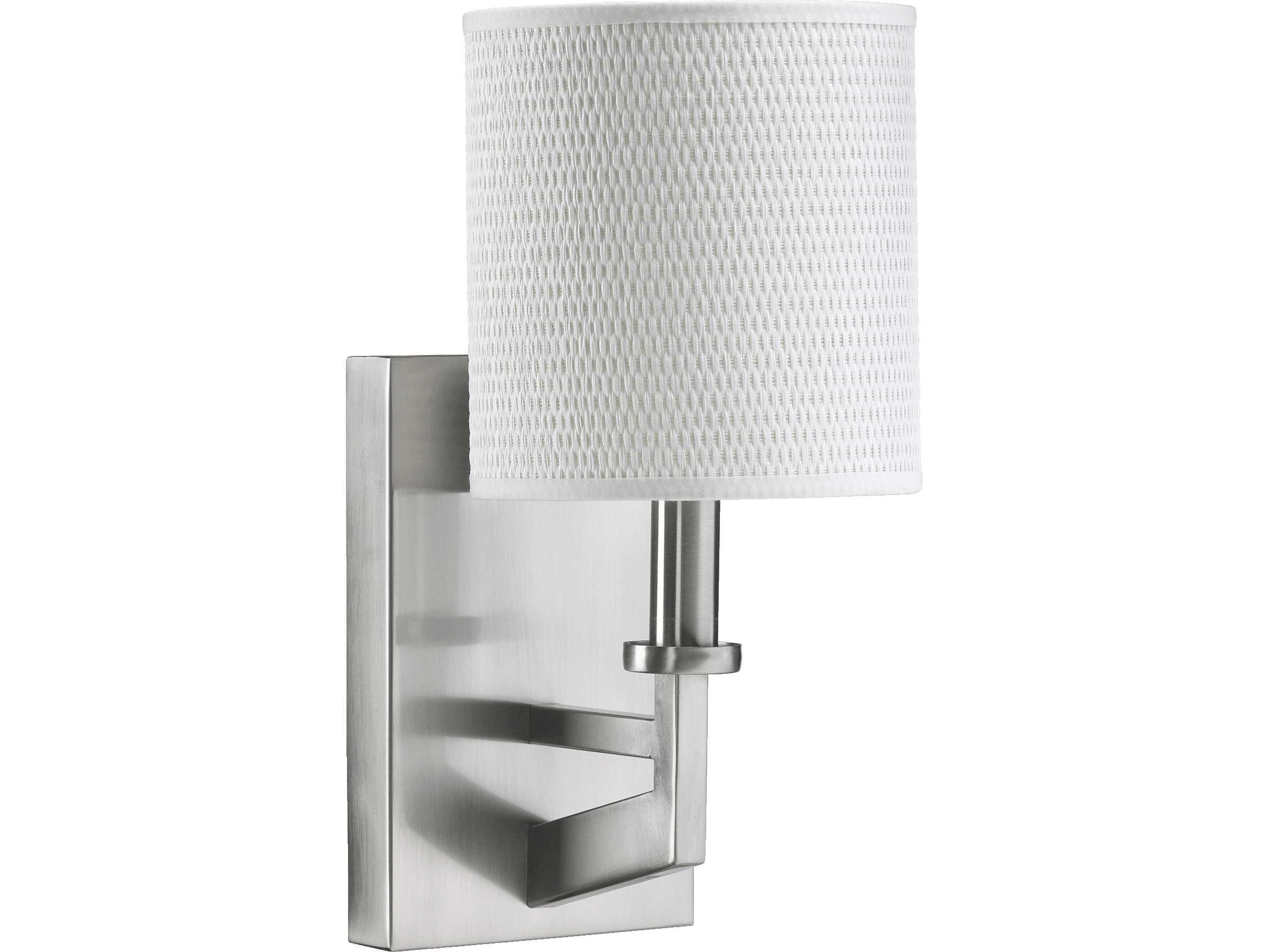 Quorum international channing satin nickel wall sconce for International decor wall lights