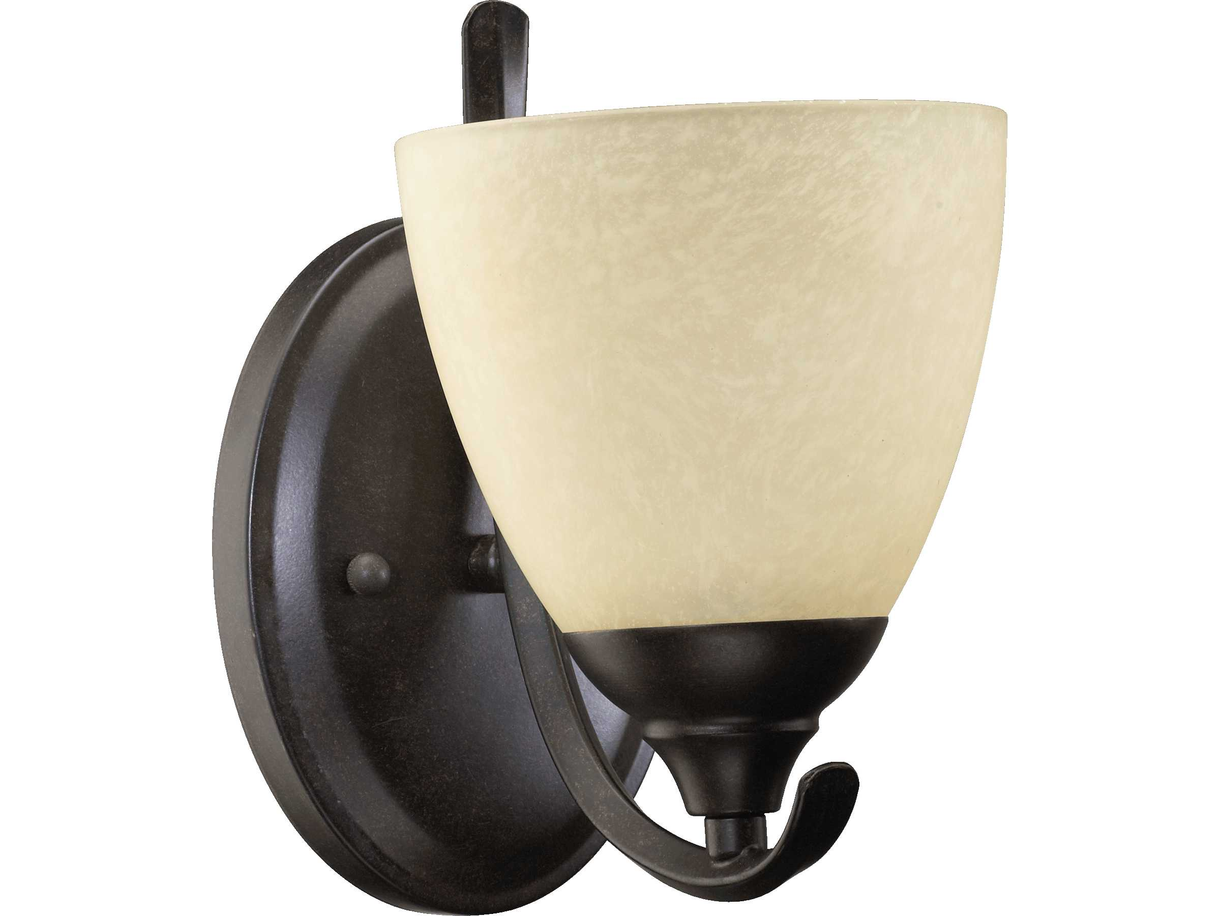 Quorum Wall Sconces : Quorum International Powell Toasted Sienna Wall Sconce