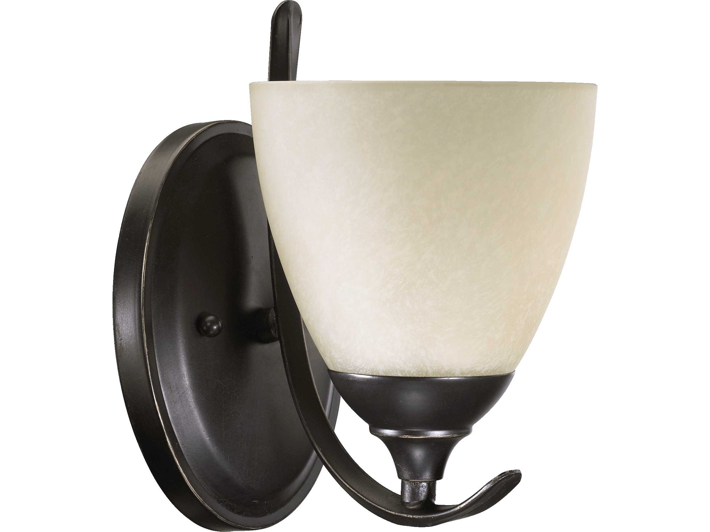 Quorum Wall Sconces : Quorum International Powell Old World Wall Sconce 5508-1-95