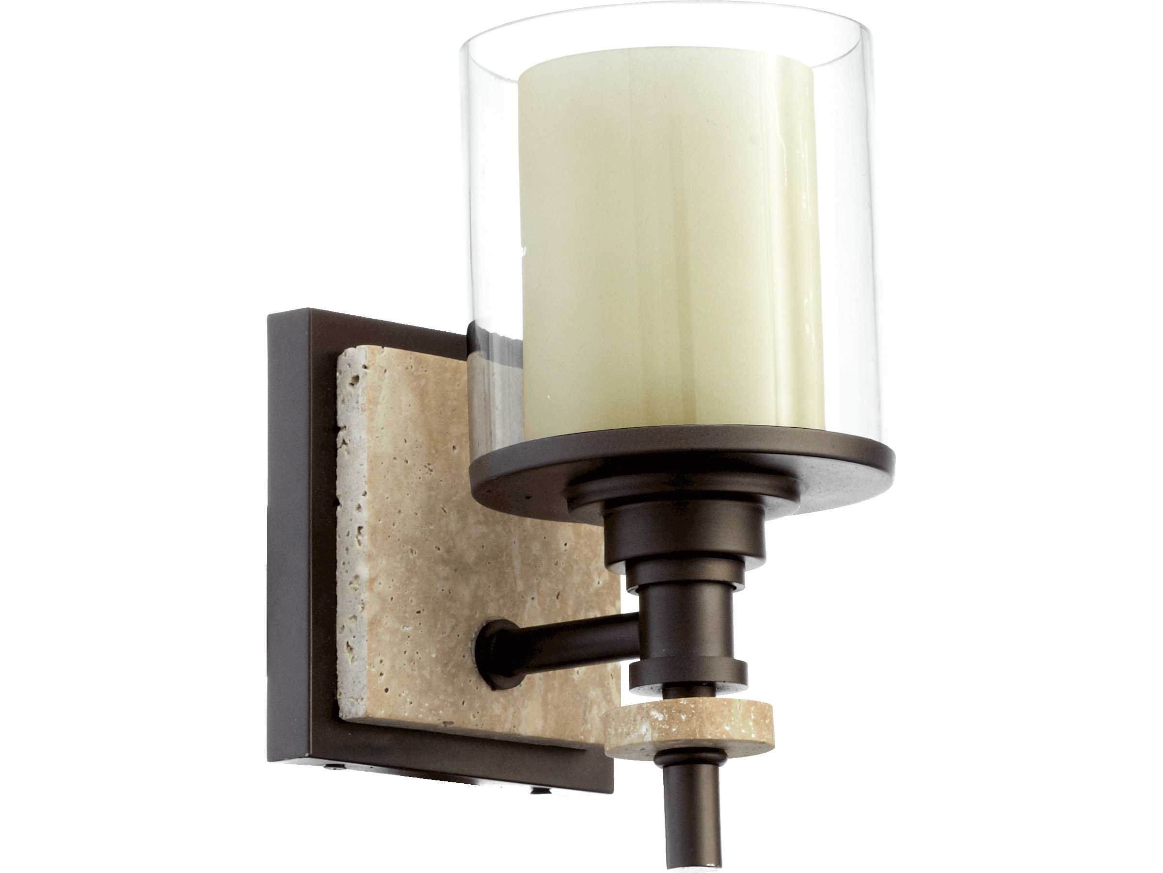 Quorum international concord oiled bronze wall sconce for International decor wall lights