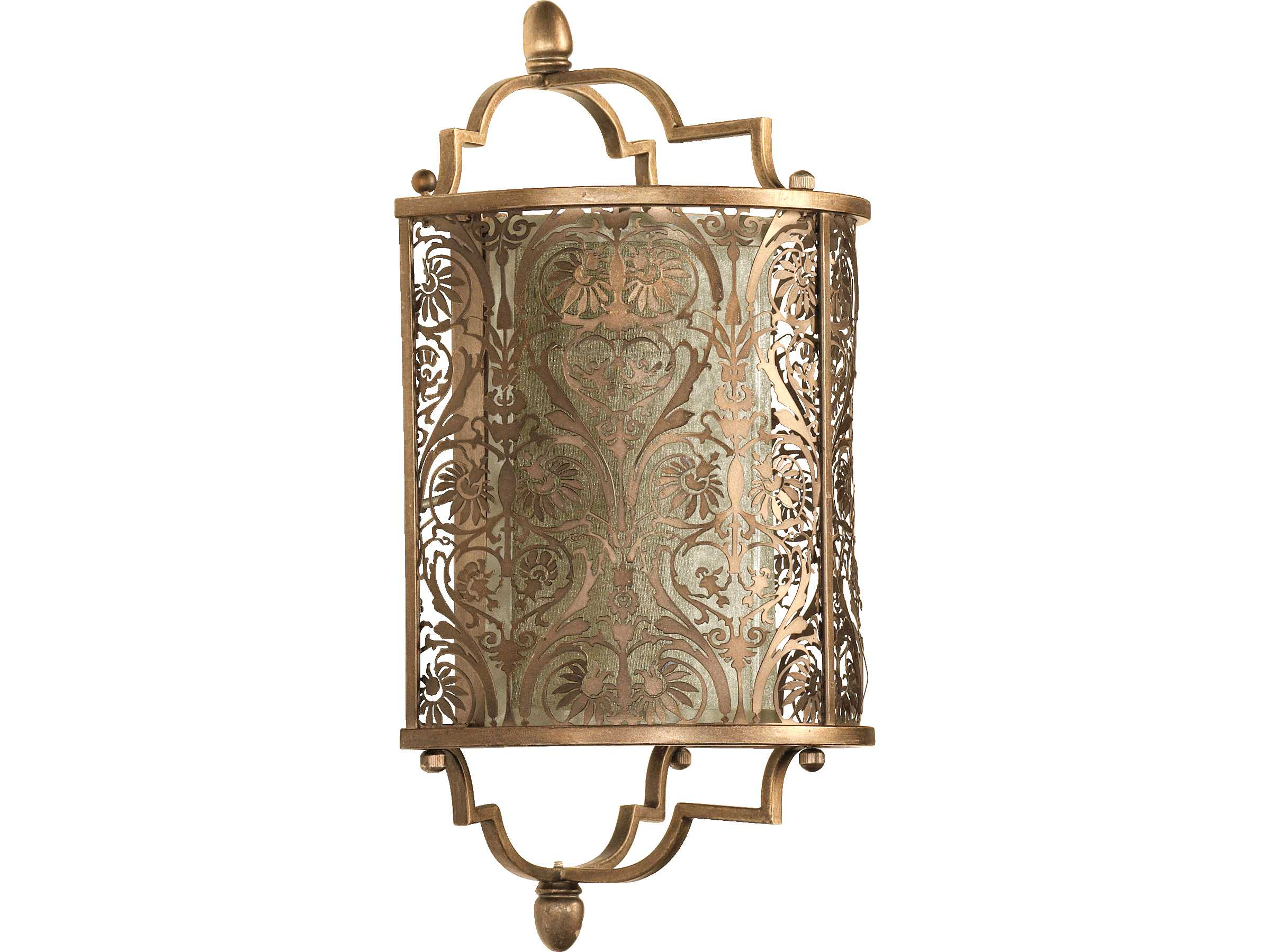 Quorum international french damask vintage pewter wall for International decor wall lights