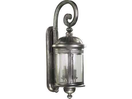 Quorum international presidio silver noir six lights for International decor wall lights