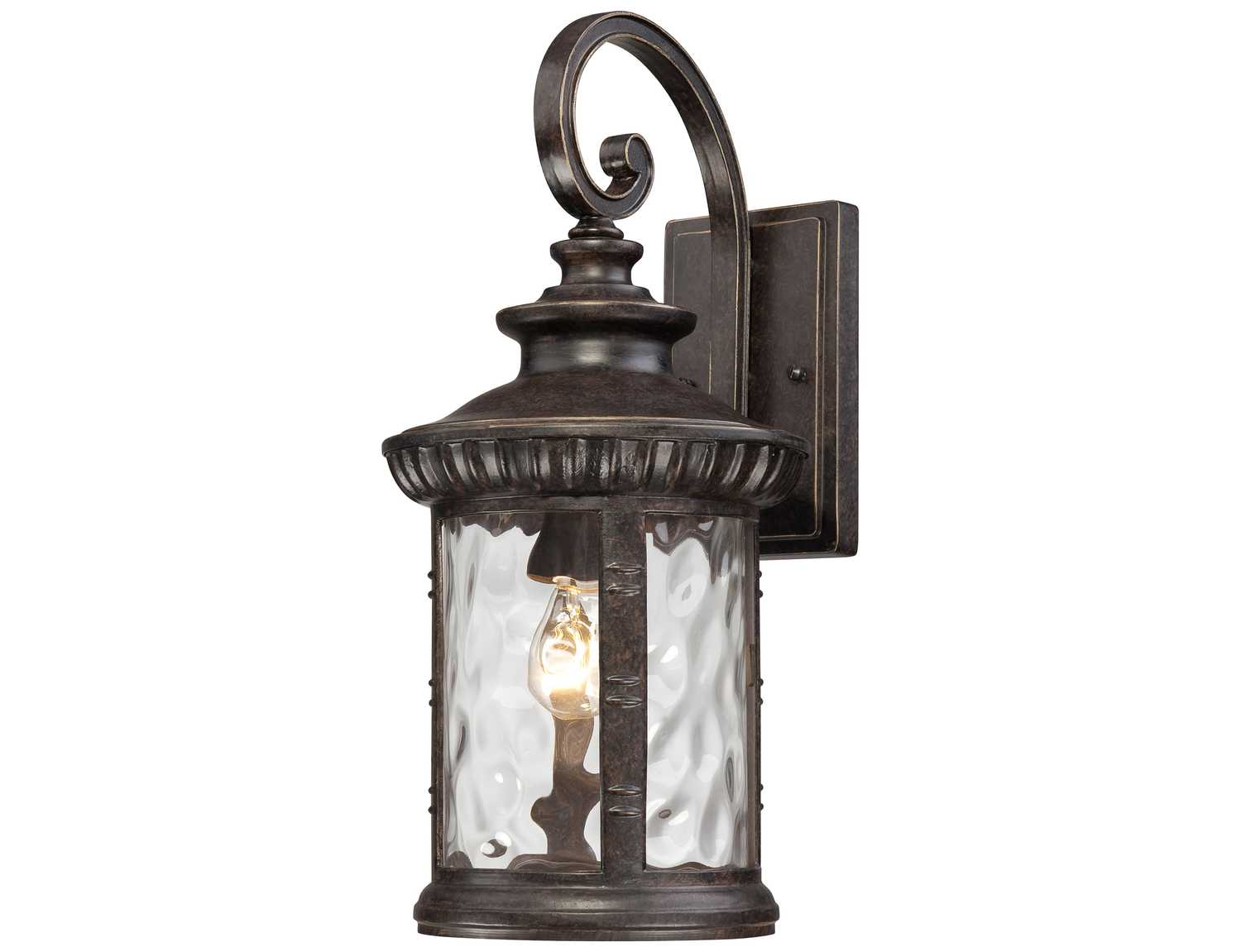 Quoizel Chimera Dark Bronze Outdoor Wall Light CHI8409IBFL