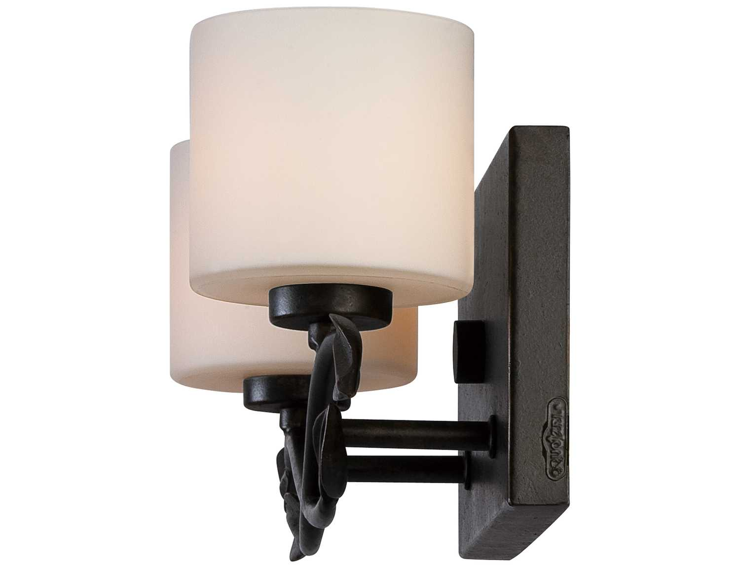 Dark Bronze Vanity Lights : Quoizel Erin Bath Dark Bronze Two-Light Vanity Light ERN8602IB