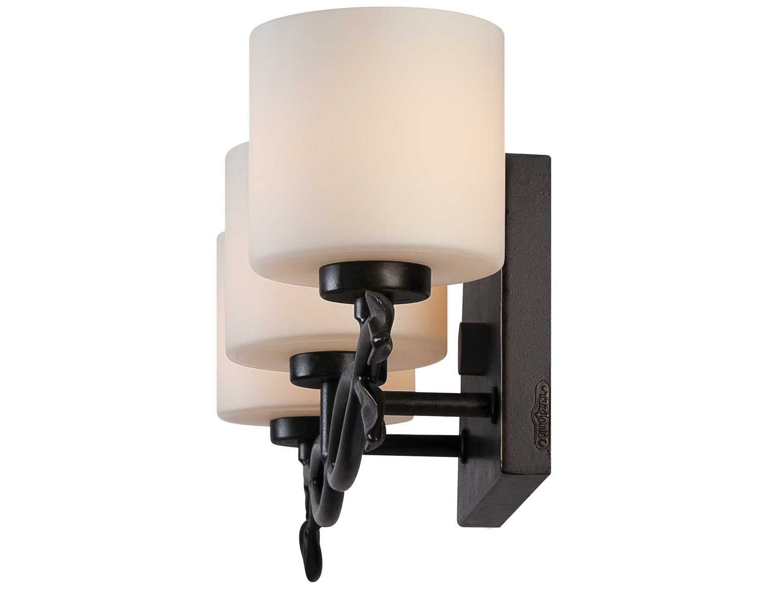 Dark Bronze Vanity Lights : Quoizel Erin Bath Dark Bronze Three-Light Vanity Light ERN8603IB