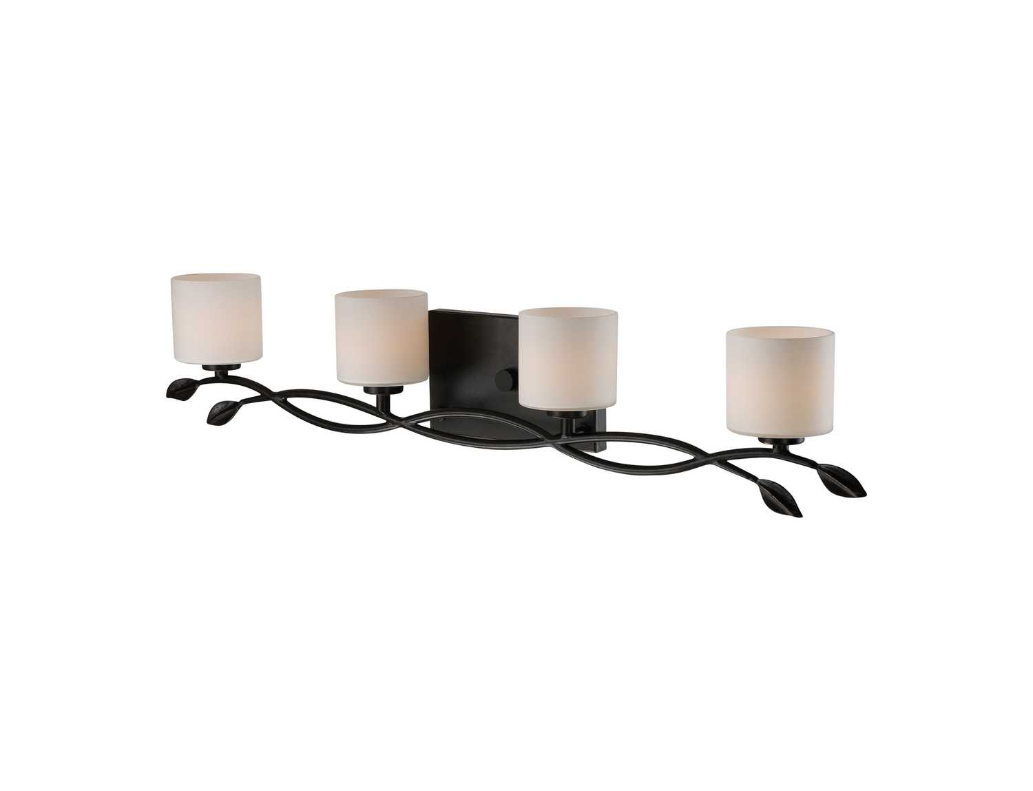Dark Bronze Vanity Lights : Quoizel Erin Bath Dark Bronze Four-Light Vanity Light ERN8604IB
