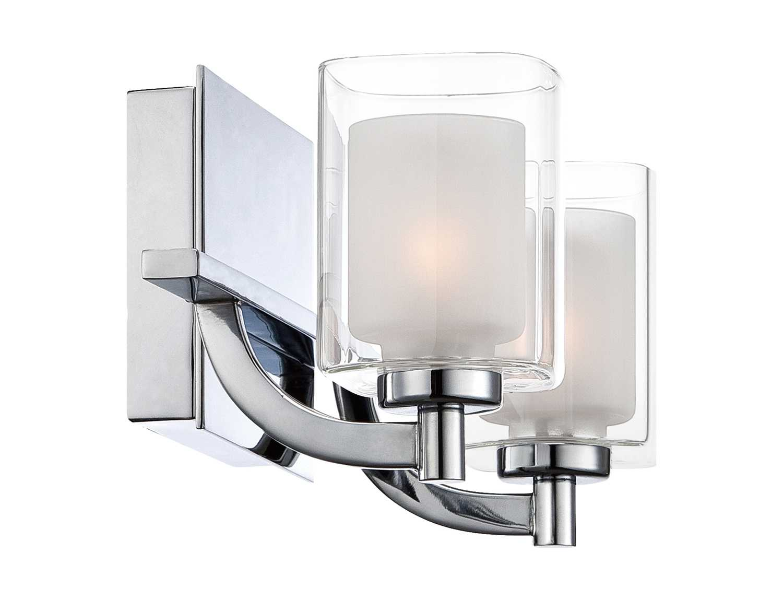 Quoizel Kolt Bath Polished Chrome Two-Light Vanity Light