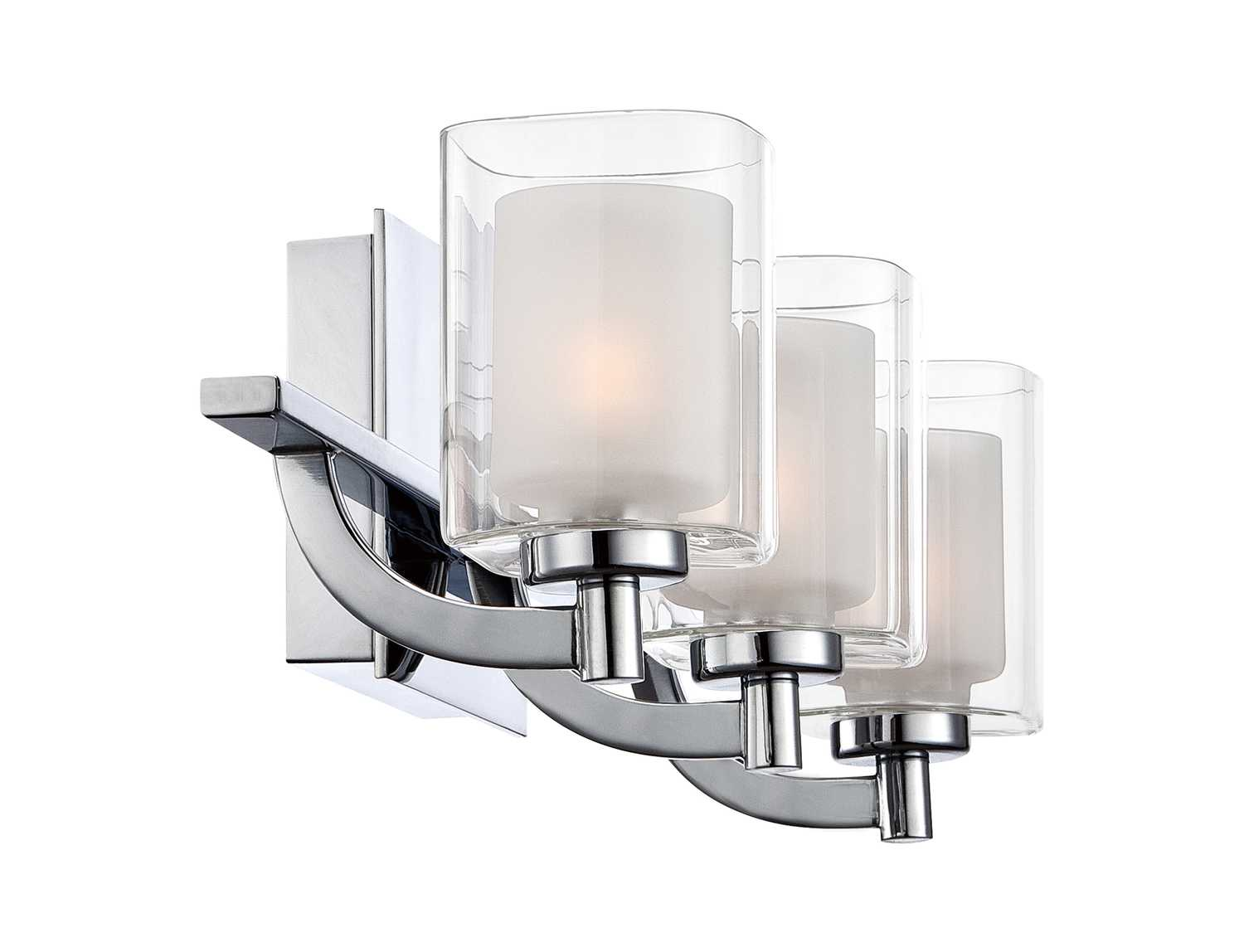 Vanity Lights Polished Chrome : Quoizel Kolt Bath Polished Chrome Three-Light Vanity Light KLT8603C