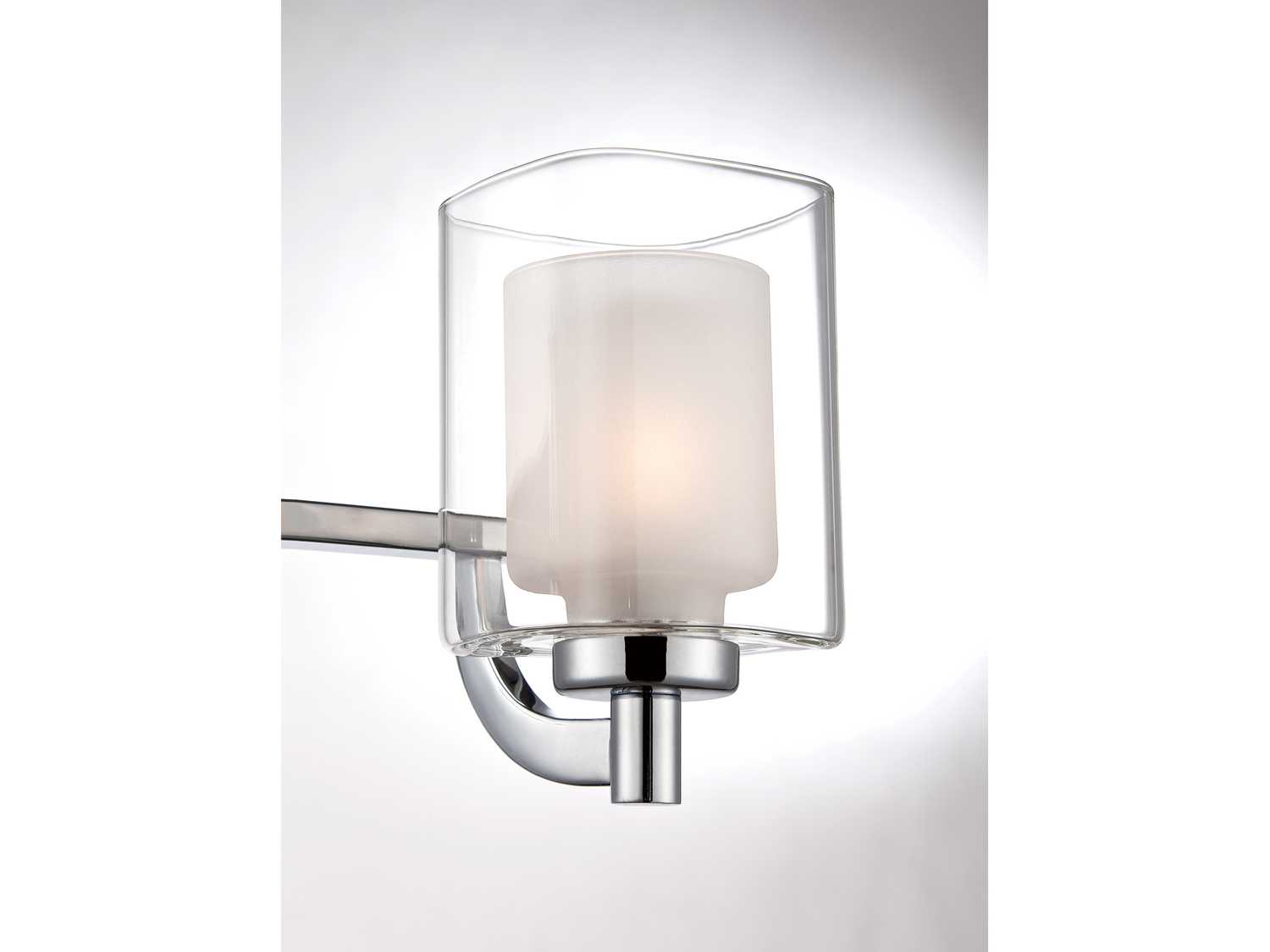 Quoizel Vanity Lights : Quoizel Kolt Bath Polished Chrome Three-Light Vanity Light KLT8603C