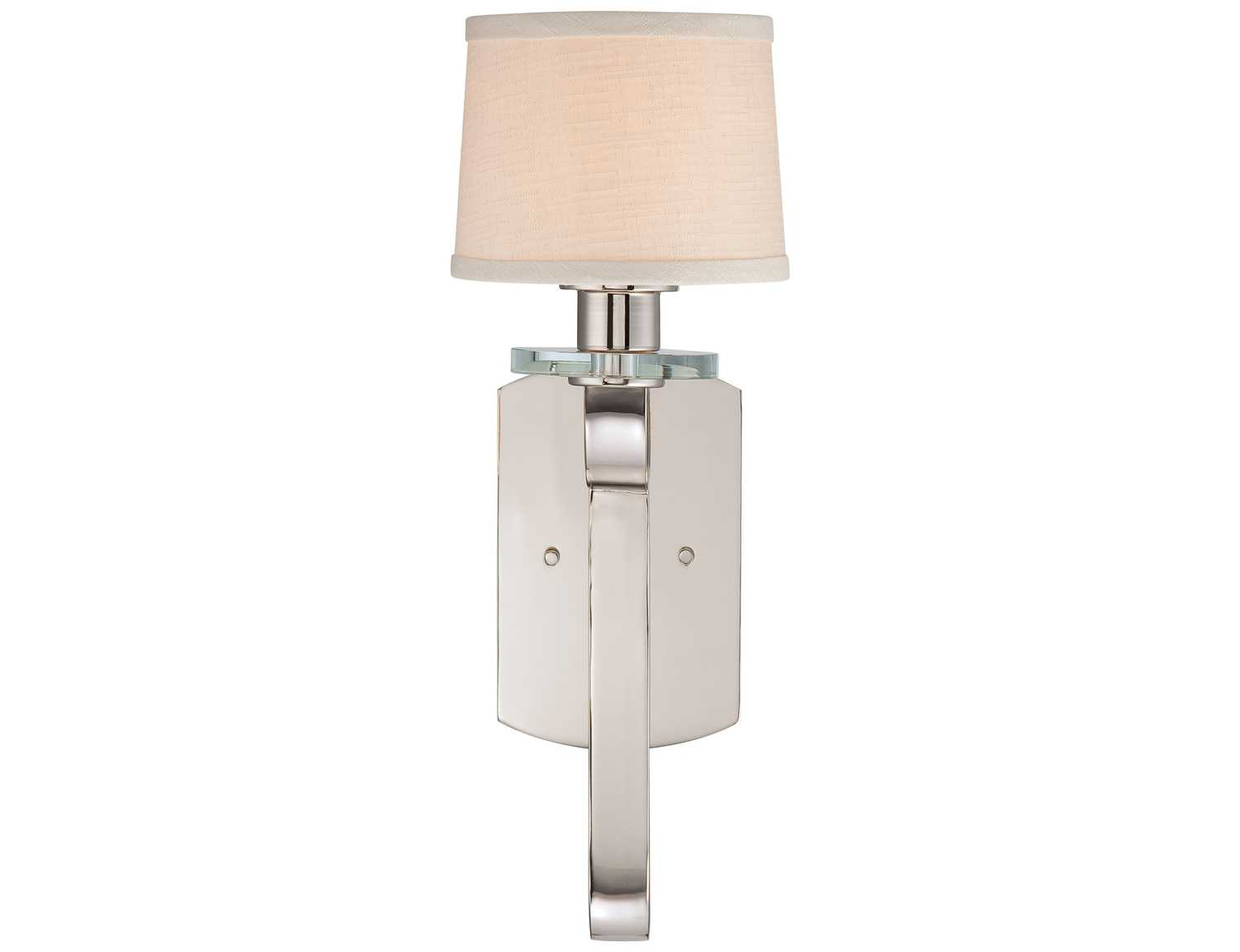 Quoizel Uptown Sutton Place Imperial Silver Wall Sconce UPSP8701IS