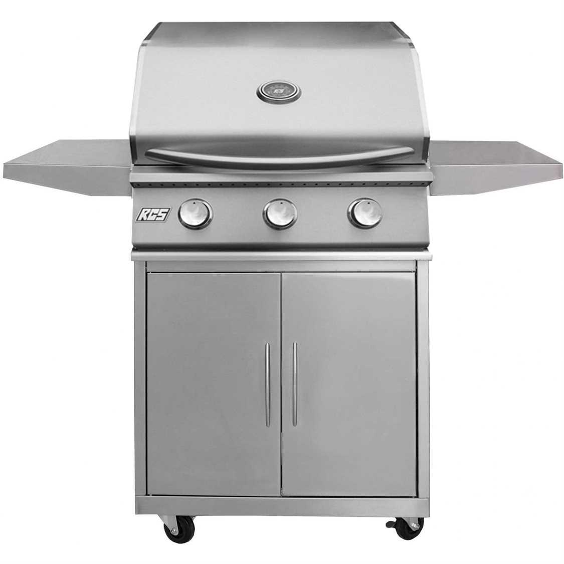 Rcs grills in premier series stainless natural gas grill