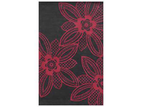 Rizzy Home Bradberry Downs Transitional Hand Made Wool Floral/Botanical 3' x 5' Area Rug - BBDBD8858FU000305