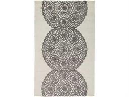Rizzy Home Dimensions Rectangular Gray Area Rug Di2241
