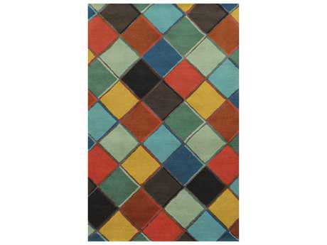Rizzy Home Gillespie Avenue Transitional Hand Made Wool Geometric 2' x 3' Area Rug - GSAGV883570280203