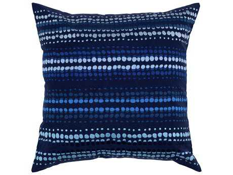 Rizzy Home Indigo Blue Pillow Cover