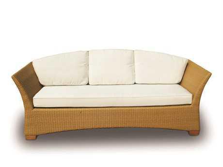 Royal Teak Copenhagen Wicker Cushion Honey Sofa