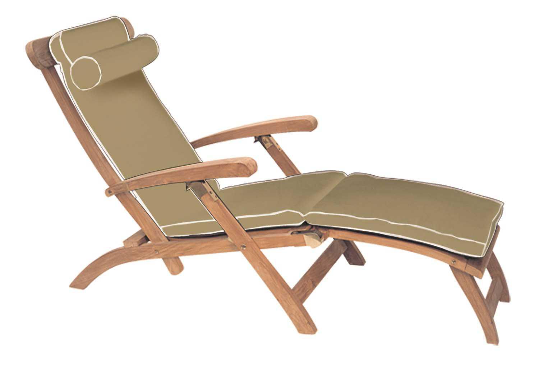 Royal Teak Collection Steamer Cushion CUSTG