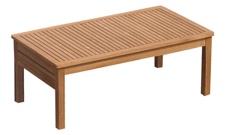 Royal Teak Collection Miami 43 X 24 Rectangular Coffee Table Miatb