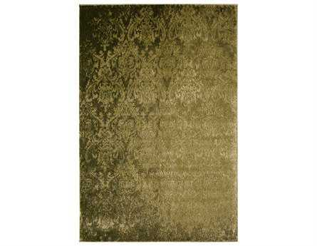 Rugs America Hudson Transitional Green Other Synthetic Damask 2' x 2'11