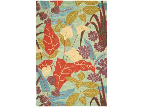 Safavieh Blossom Transitional Red Hand Made Wool Floral/Botanical 2'6'' x 4' Area Rug - BLM674A-24