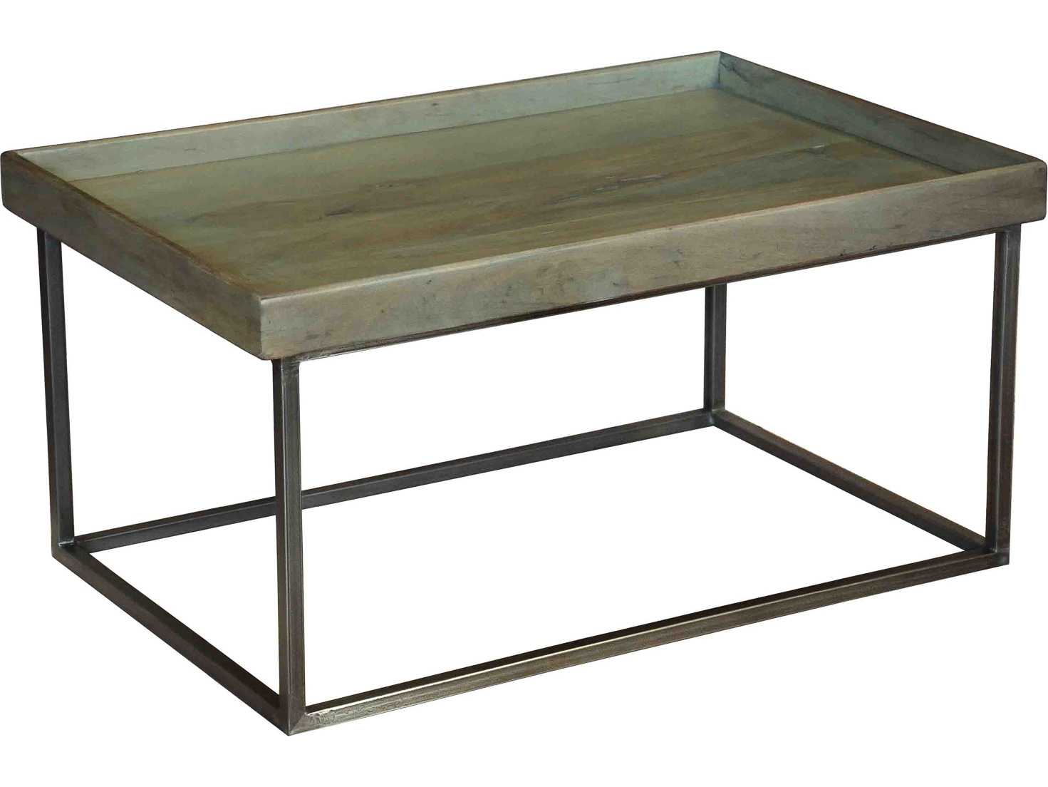 Sarreid 36 x 24 rectangular tray coffee table 27644 for 24 x 24 coffee table