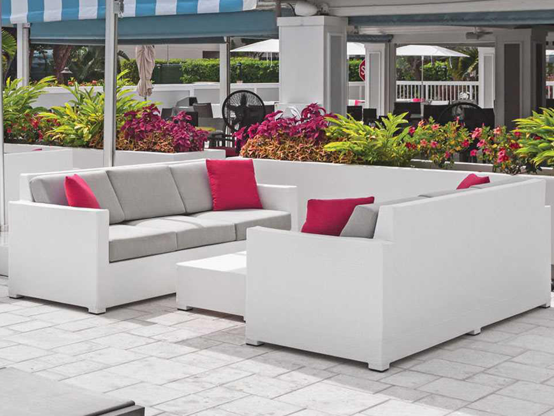 Source outdoor furniture lucaya wrap aluminum sofa so for Source outdoor furniture