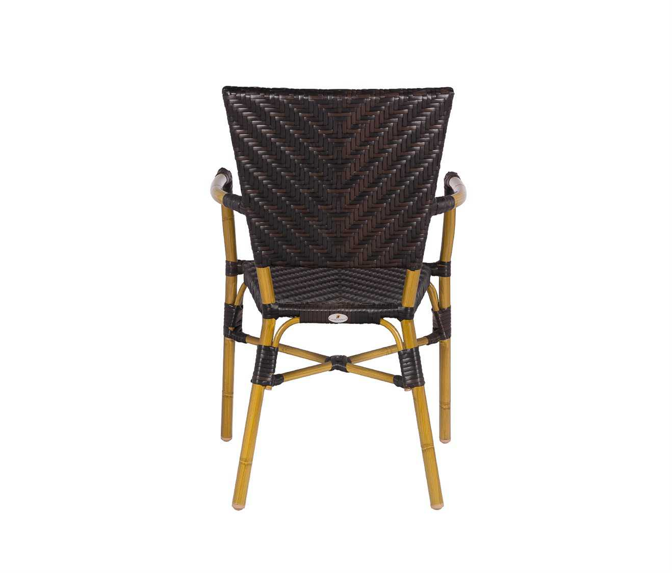 Source outdoor furniture capri dining arm chair for Source outdoor furniture