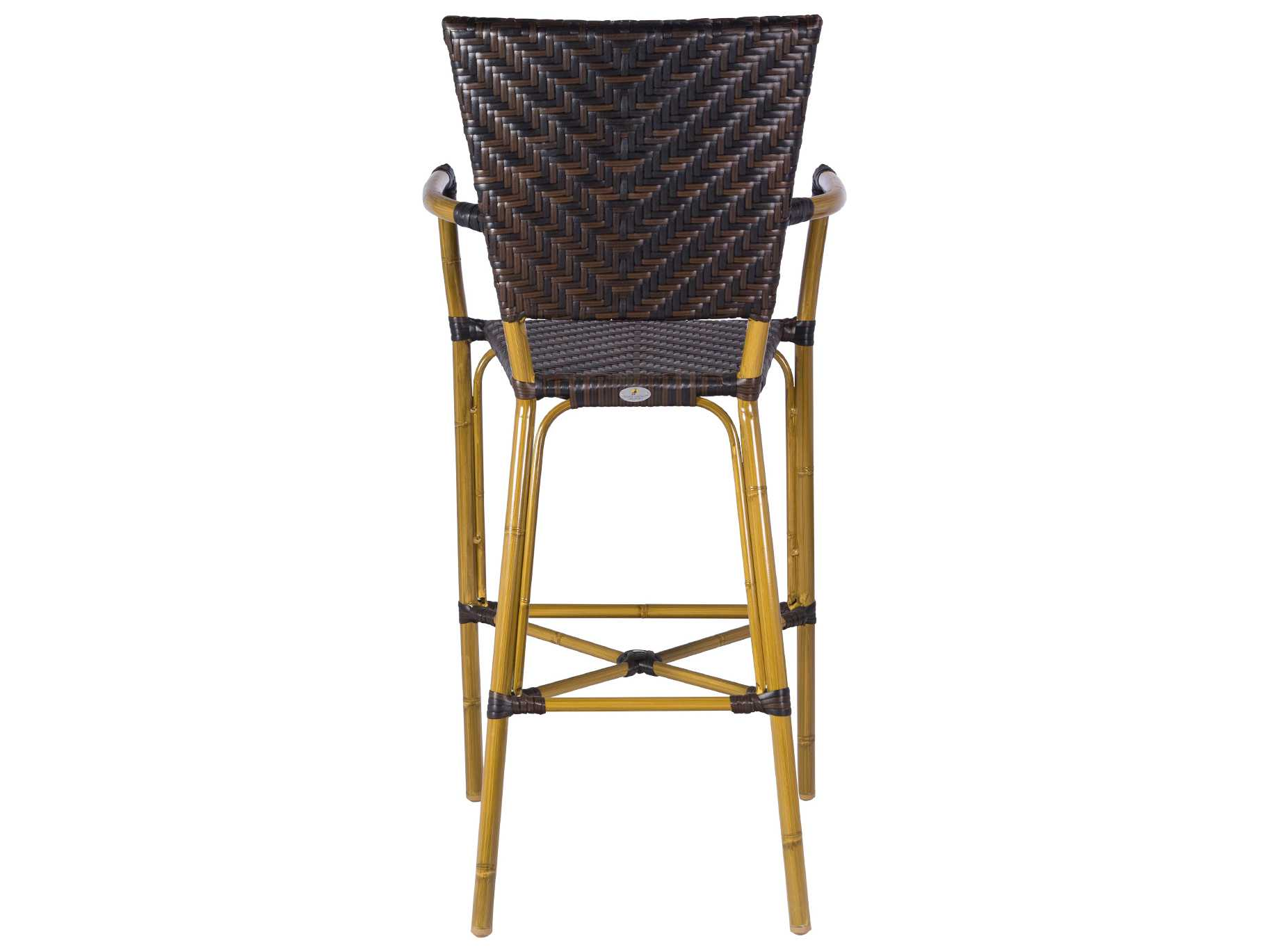 Source Outdoor Furniture Capri Wicker Bar Arm Chair SC  : SCSC22021733zm from www.patioliving.com size 1825 x 1369 jpeg 80kB