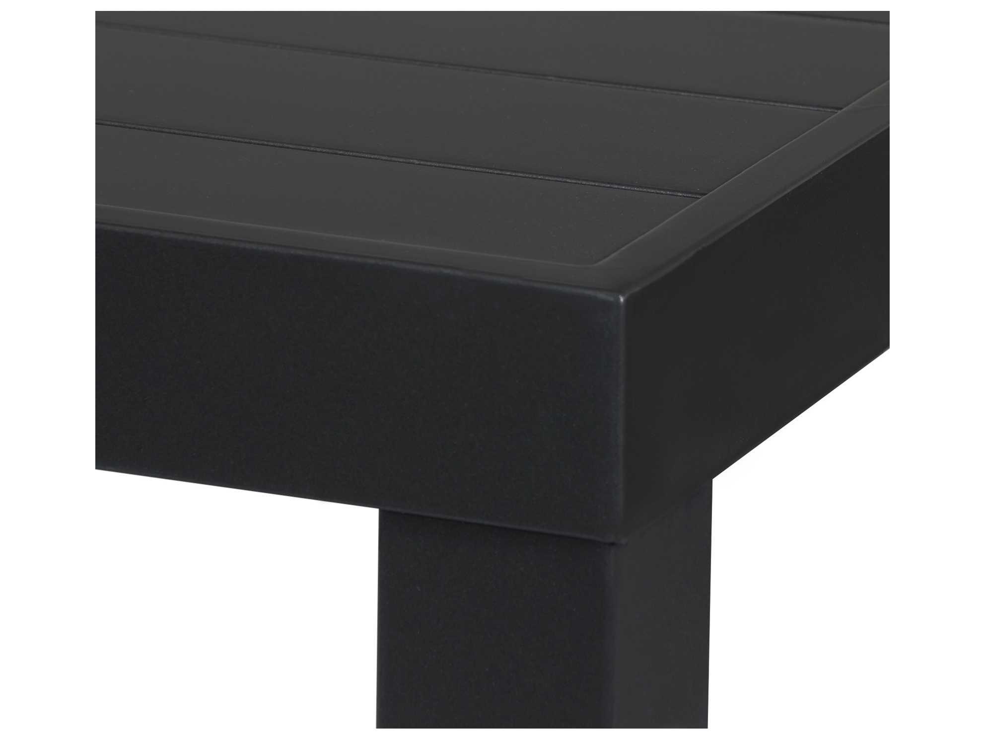 source outdoor furniture liam aluminum 60 square dining