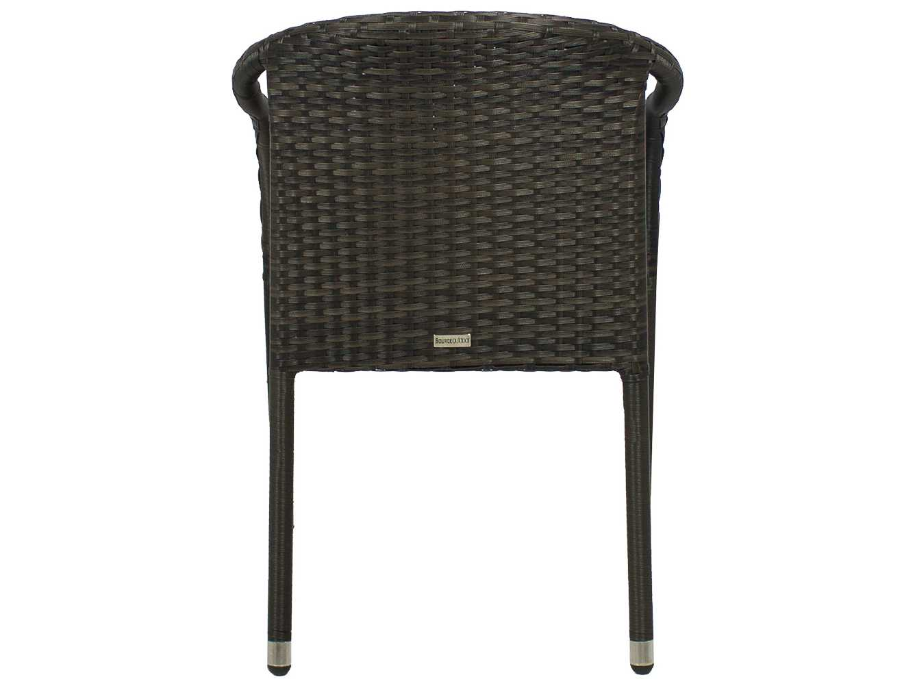 Source Outdoor Furniture Circa Wicker Stackable Dining
