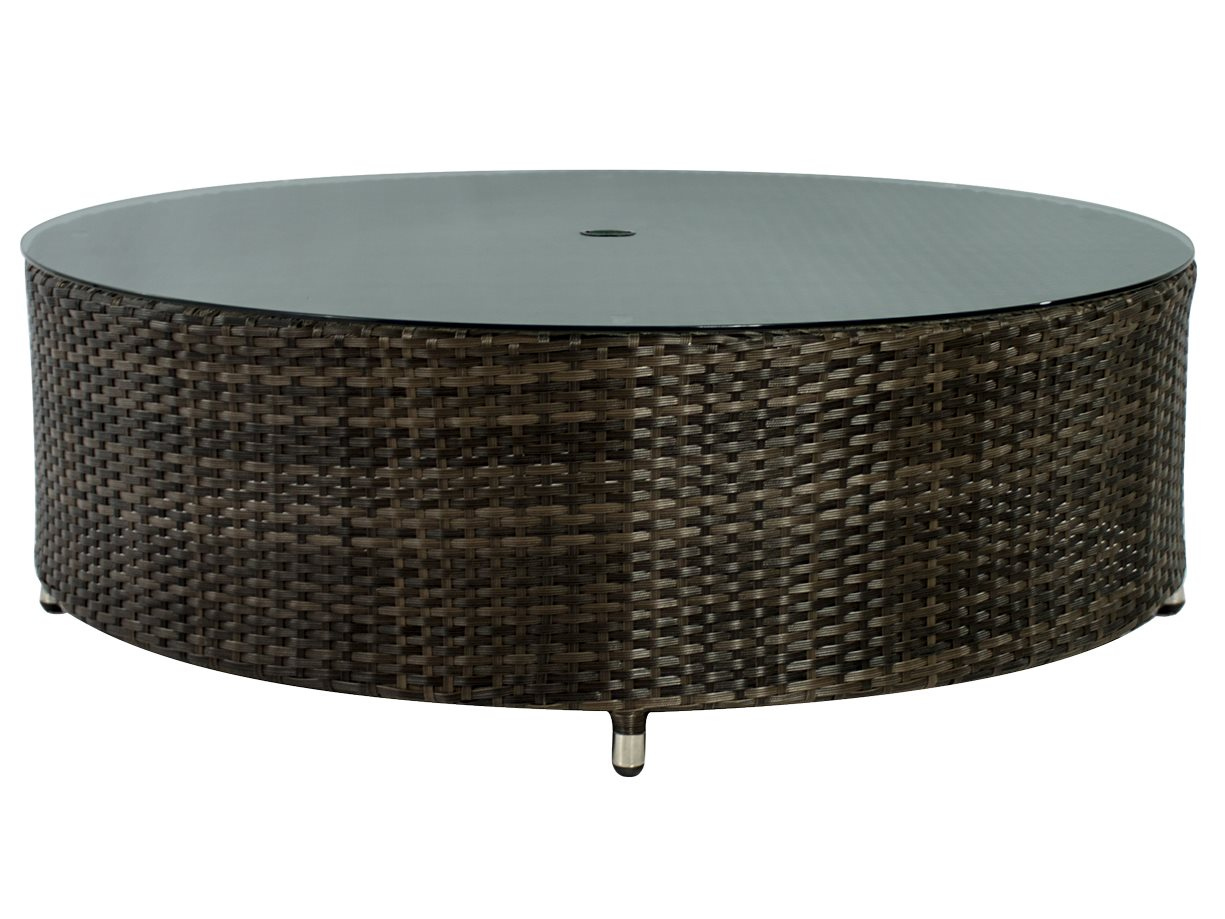 Source Outdoor Furniture Circa Wicker 47 Round Coffee