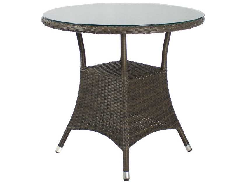 Source Outdoor Furniture Circa 32 Round Dining Table Seats