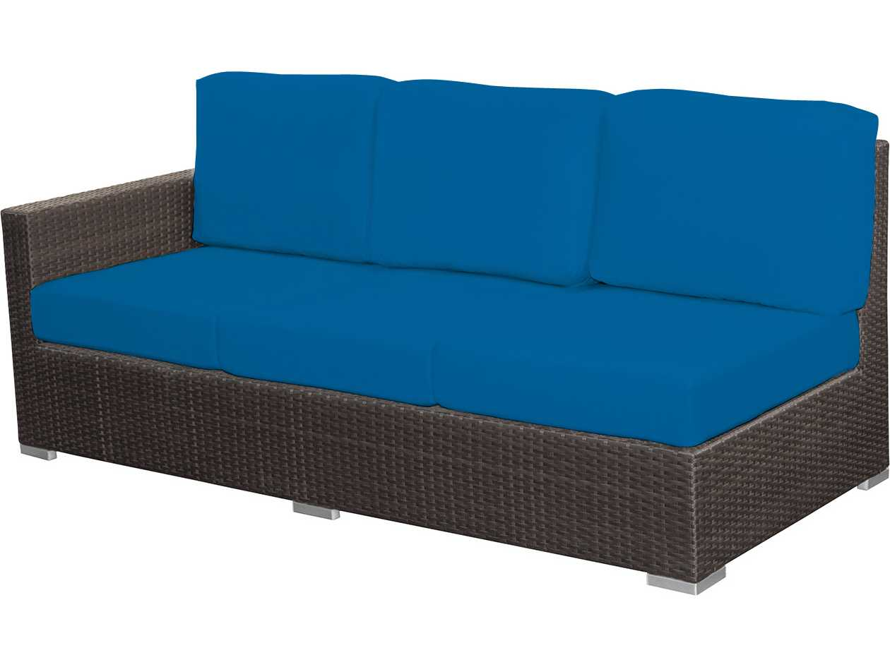 Source Outdoor Furniture Lucaya Wicker Left Arm Sofa