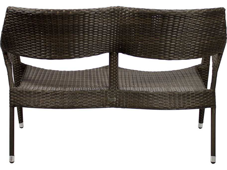 Source Outdoor Furniture Tuscanna Wicker Loveseat