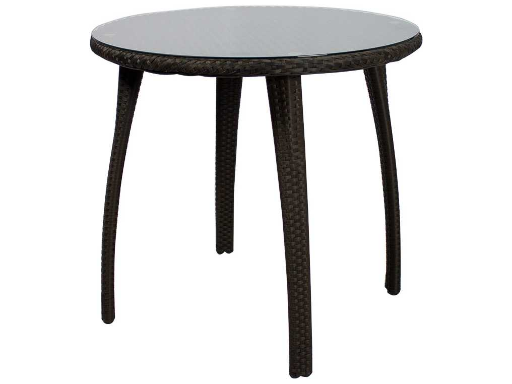 Source Outdoor Furniture Tuscanna Wicker 32 Round Dining Table SO