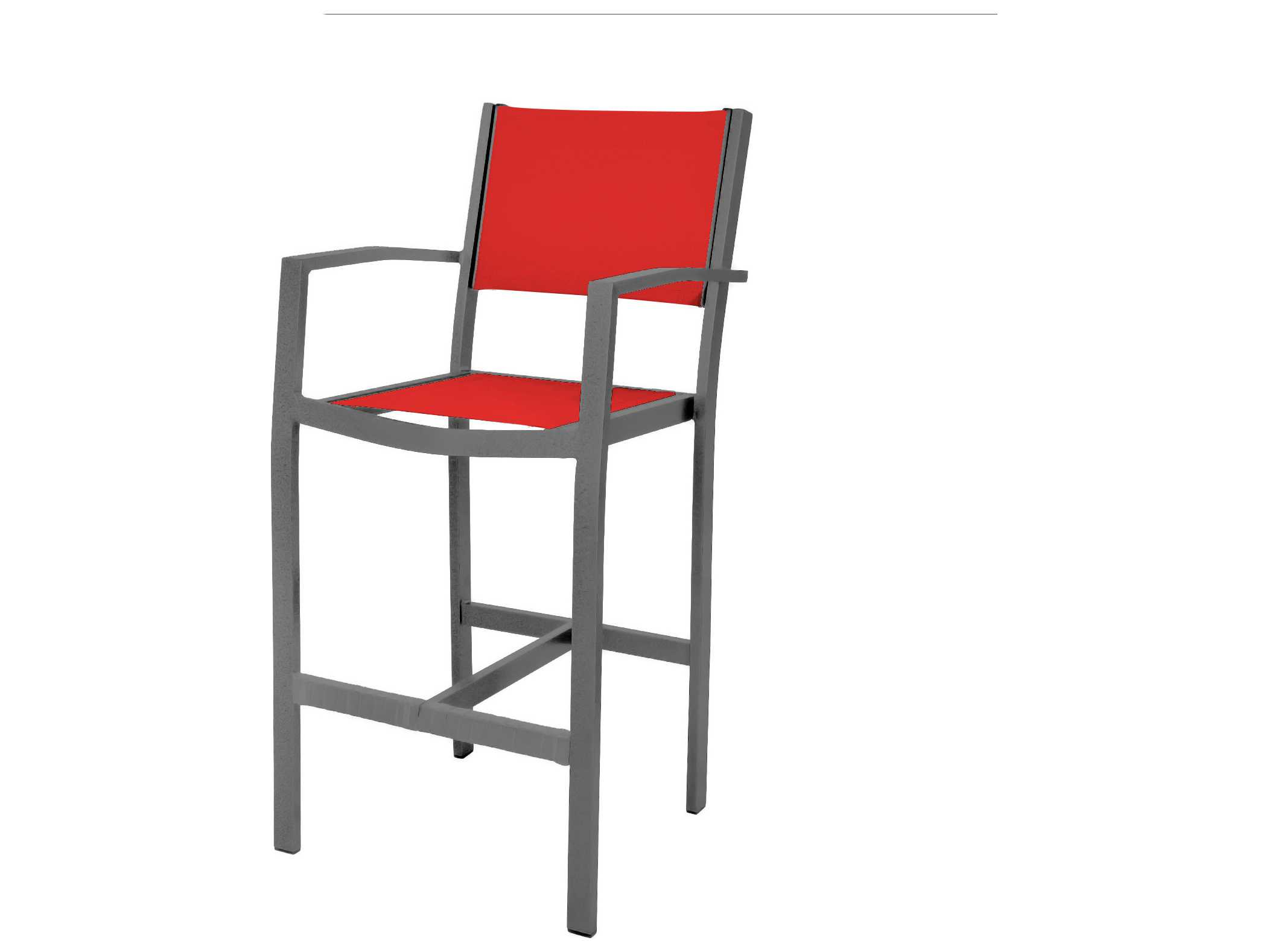 Source Outdoor Furniture Fusion Aluminum Bar Arm Chair  : SCSO30011735zm from www.patioliving.com size 2103 x 1578 jpeg 51kB