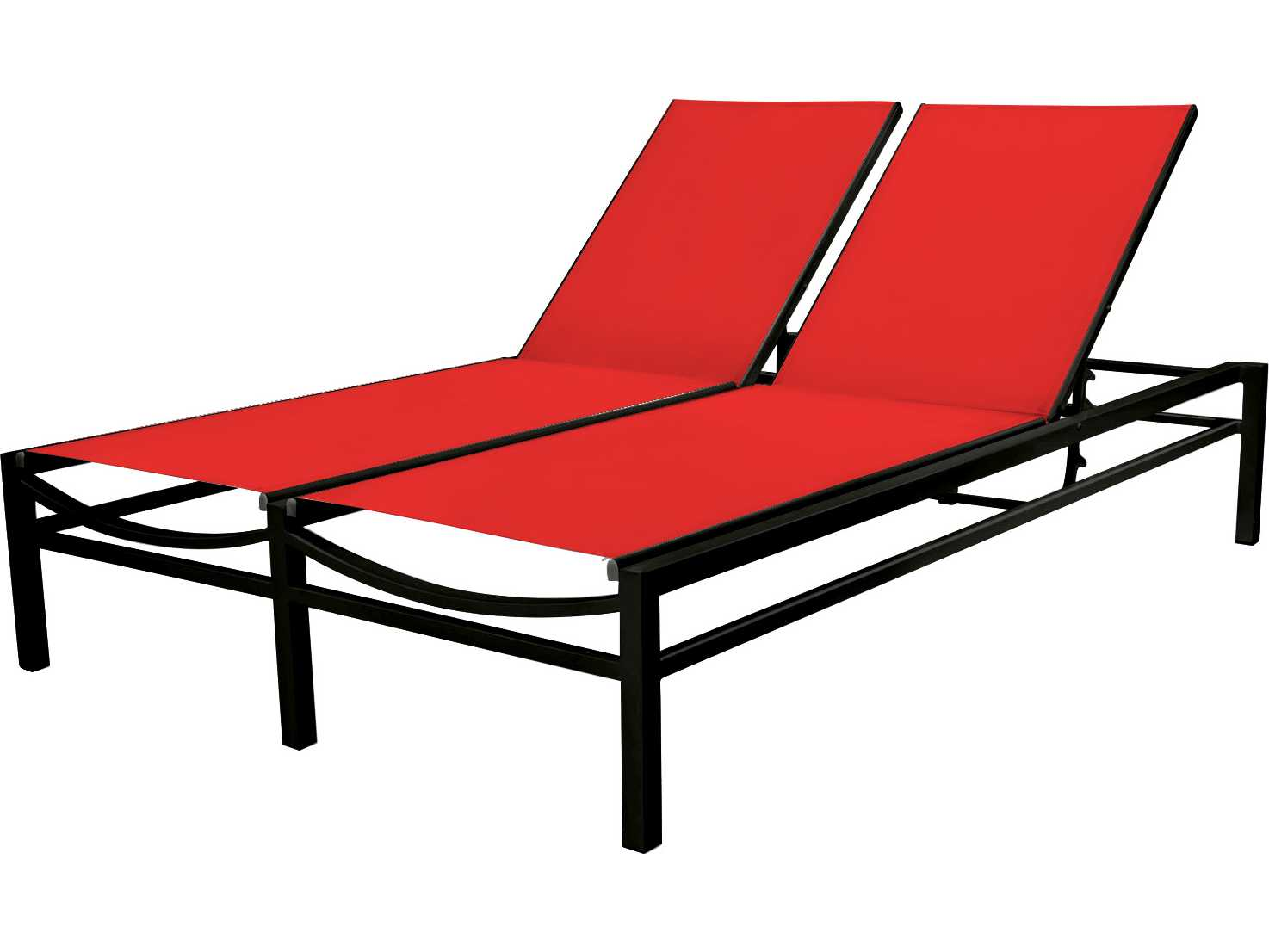 Source outdoor furniture fusion aluminum extra armless for Source outdoor furniture