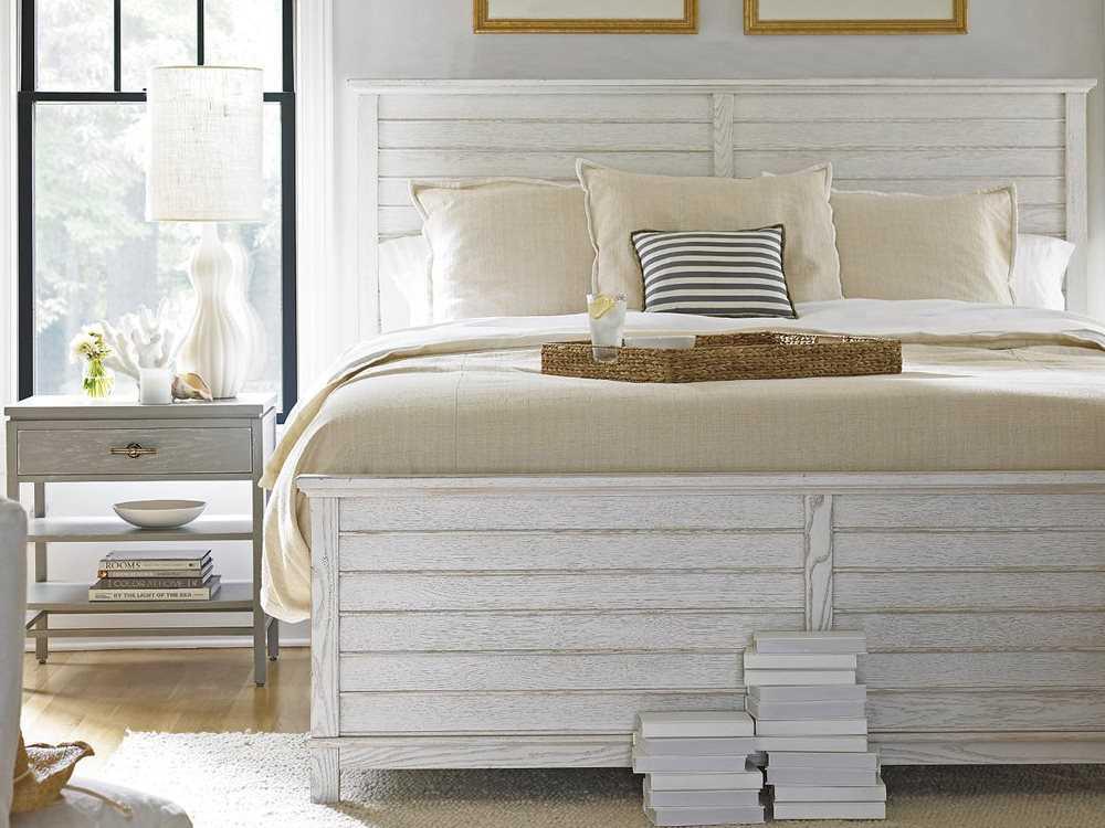 Stanley Furniture Coastal Living Resort Sail Cloth Cape Comber Queen Panel Bed 062 A3 40