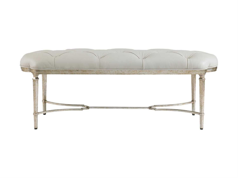 Stanley Furniture Charleston Regency Champagne Silver Leaf
