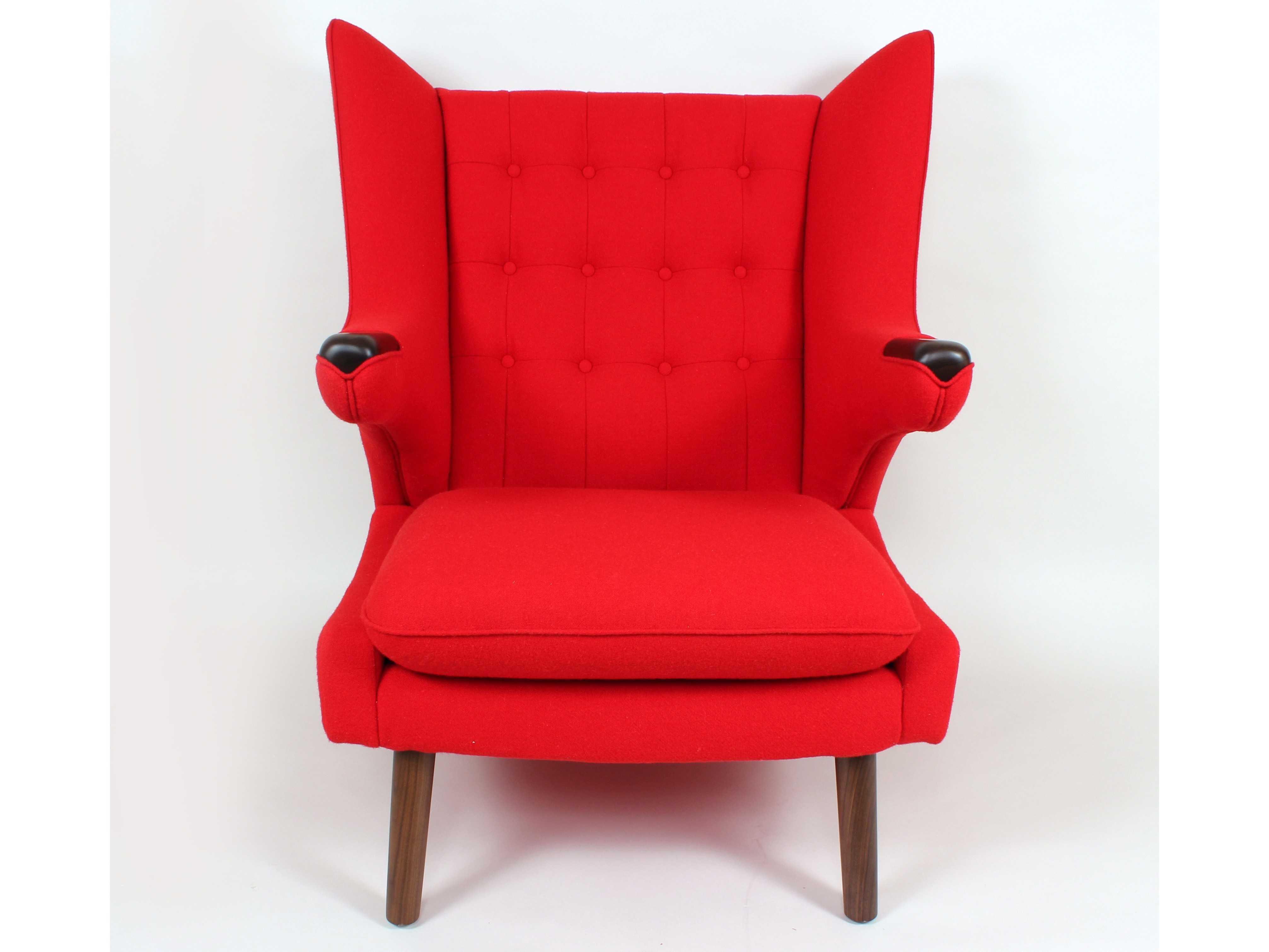 Stilnovo Olsen Red Accent Chair Fb759red