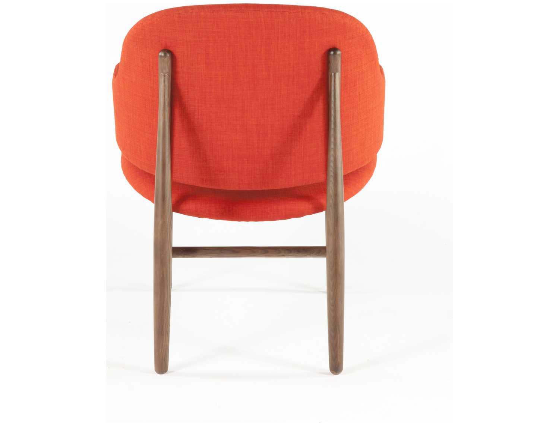 Stilnovo Cosgrove Orange Timber Accent Chair Fzc001org