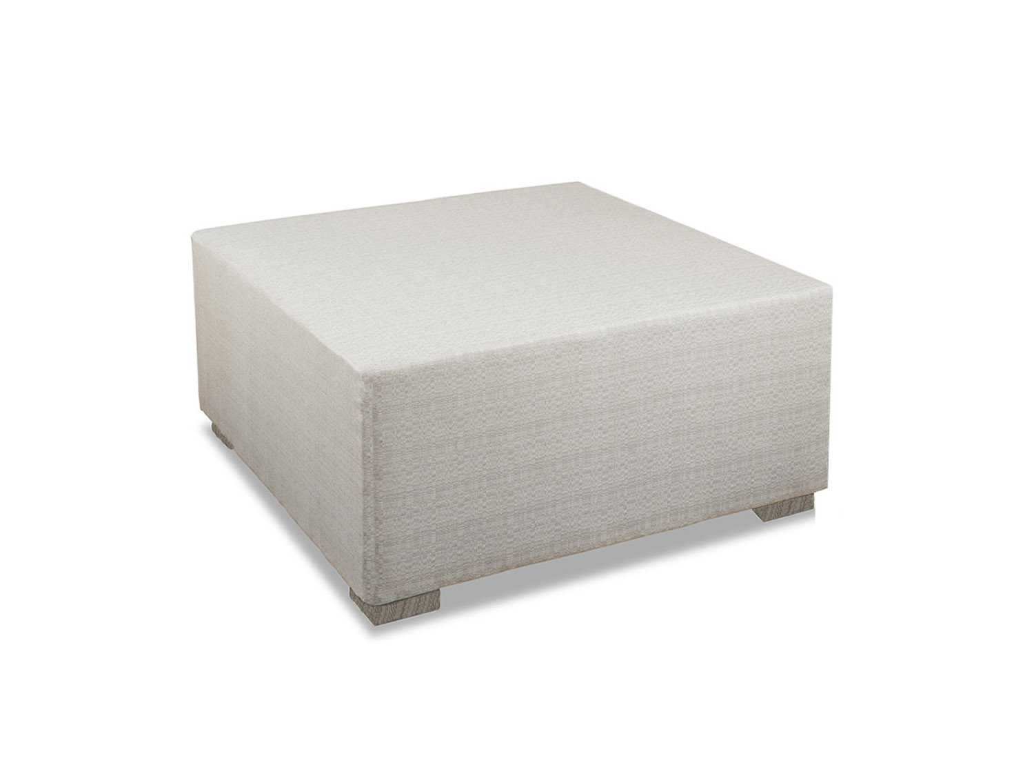 South Sea Rattan Large Square Cocktail Ottoman 72092