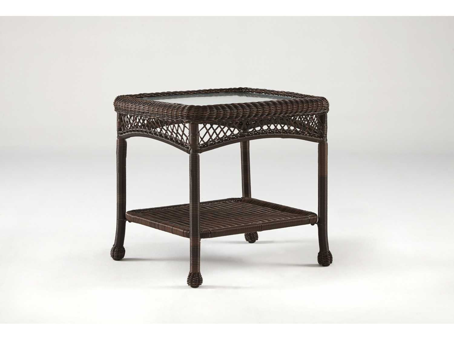South Sea Rattan Montego Bay Wicker 24 X 22 Rectangular